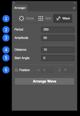 Screenshot Wave layout